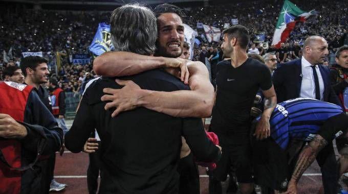 L'Inter batte la Lazio e va in Champions League (Ansa)