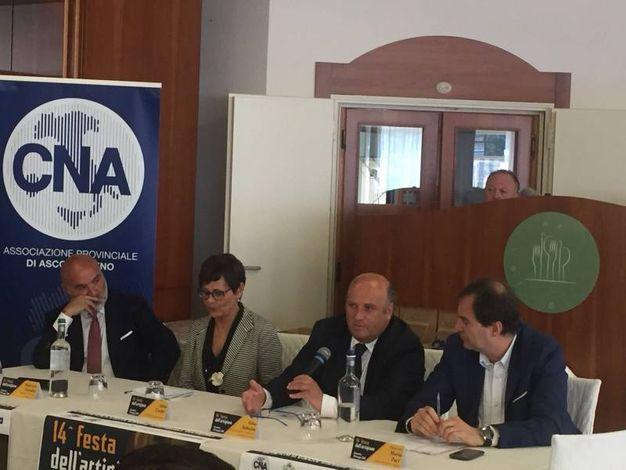 Gino Sabatini, presidente della Camera di Commercio
