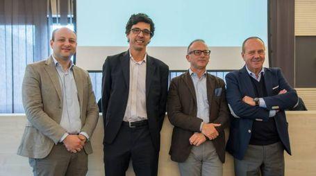 Alessandro Damiani, Robert Kropfitsch, Paolo Grigolli e Gigi Neri