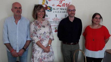 Riccardo Salvetti, Chiara Ciccarè, Mirko Terreni e Catia Fantozzi