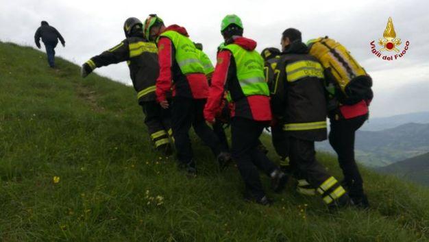 I soccorsi dei vigili del fuoco