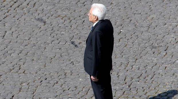 Il capo dello Stato Sergio Mattarella (Lapresse)