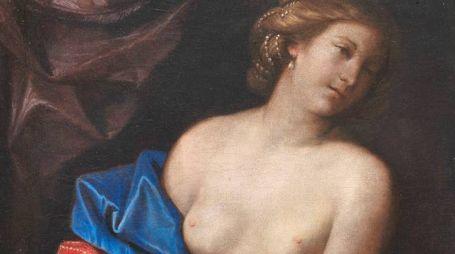 """""""Sofonisba nuda morente"""" del Guercino"""