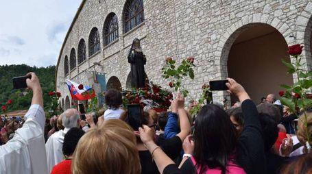 Cascia, festa di santa Rita