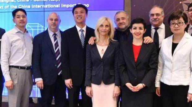 La delegazione comasca in missione in Cina