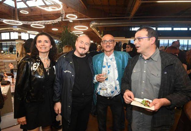 Al centro Eraldo Turra e Luciano Manzalini (Foto Schicchi)