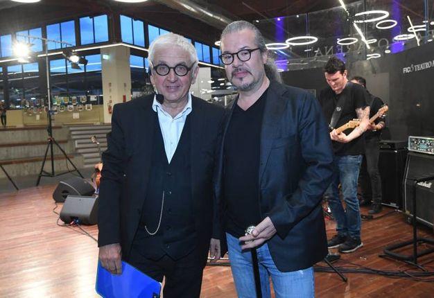 Giorgio Comaschi (a sinistra)