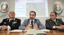 Conferenza stampa carabinieri e finanza  (Acerboni/FotoCastellani)