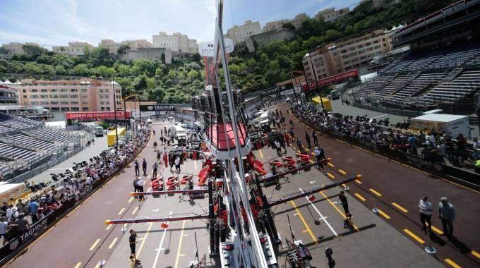 F1, il circuito di Montecarlo ospita il Gp di Monaco (LaPresse)