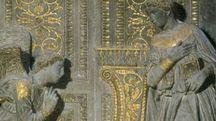 Donatello, Annunciazione (particolare), Chiesa di Santa Croce