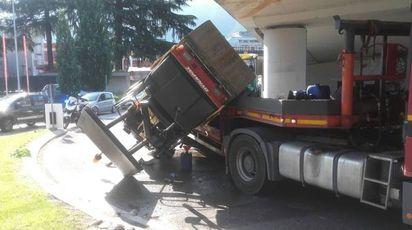L'incidente in via Asiago