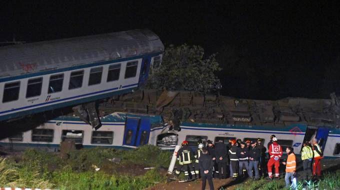 Il disastro ferroviario di Clauso (LaPresse)