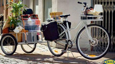 La bicicletta Sladda di Ikea