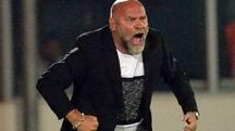 La grinta dell'allenatore dell'Ascoli, Serse Cosmi (LaPresse)
