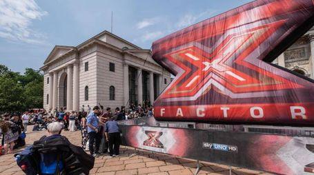 Il simbolo di X Factor che per il secondo anno consecutivo terrà le sue audizioni all'AdriaticArena di Pesaro