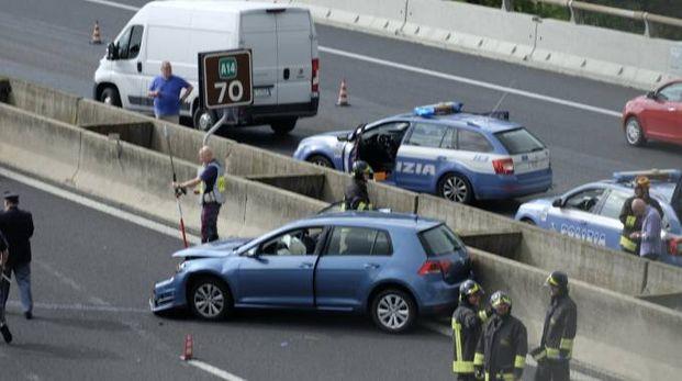 L'incidente sull'A14