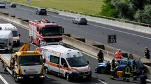 Incidente in A14, morto Luigi Alessandro Codazzi (foto Frasca)