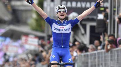 Giro d'Italia 2018, Maximilian Schachmann vince la tappa 18 (LaPresse)