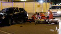 La tremenda scena dell'incidente (foto Frasca)