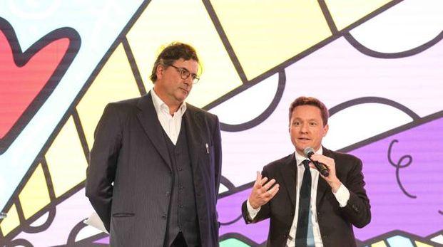 Carlo D'Asario Biondo di Google Emea e Andrea Ceccherini (Germogli)