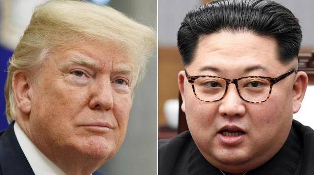 Donald Trump e Kim Jong-un (Ansa)