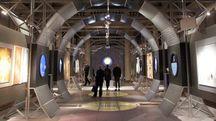 Una delle prima immagini dell'installazione: «Un  nuovo volo su Solaris» ispirata a Andrej Tarkovskij