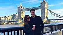 Federico Zini ed Elisa Amato in una foto tratta da Facebook