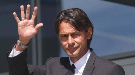 Filippo Inzaghi (foto Ansa)