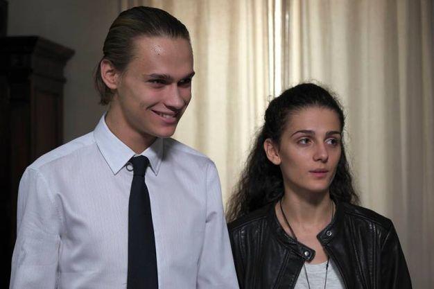 Saul Nanni e Greta Montanari