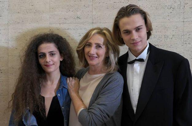 Greta Montanari, Lunetta Savino e saul Nanni