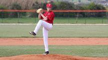 Godo di Russi, colpito dalla pallina mentre gioca a baseball (Foto Terenzi)