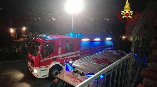 Notte di grande impegno per i vigili del fuoco