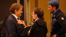 L'imputato Matteo Cagnoni con il suo difensore, l'avvocato Giovanni Trombini