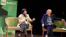 La chiusura del festival di Radio 3 con Massimo Cacciari e il direttore Marino Sinibaldi