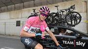 Il vincitore del 101° Giro (Lapresse)
