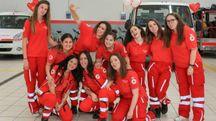 Alcune volontarie della Croce Rossa di Certaldo (Foto Germogli)