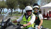 Marinelli con Fenati al Benelly day a Pesaro (Fotoprint)