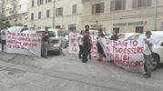 Il sit-in per chiedere giustizia per Pamela Mastropietro