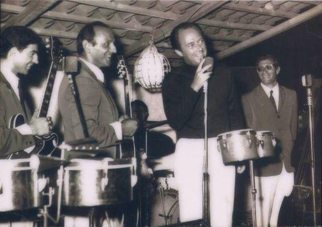 1968: il Quartetto Bettini con Nico Fidenco
