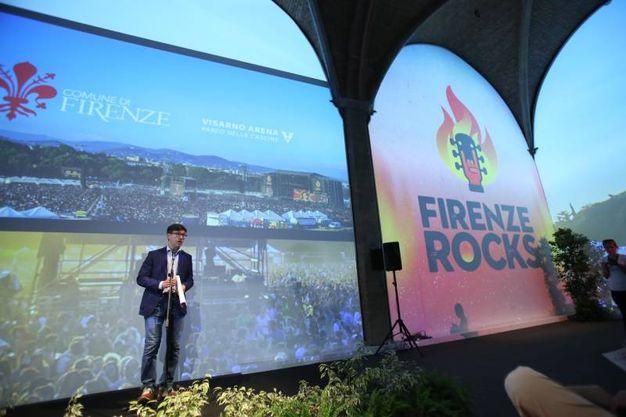 Firenze, presentazione del festival Firenze Rocks (Marco Mori/New Press Photo)