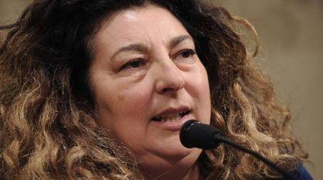 Ferrara: Patrizia Moretti, madre di Federico Aldrovandi (Foto LaPresse)