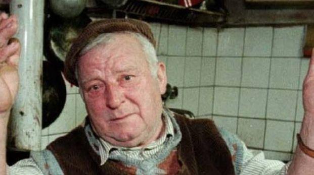 Pietro Pacciani, morto nel 1998, condannato nel 1994 all'ergastolo per i delitti  del Mostro di Firenze