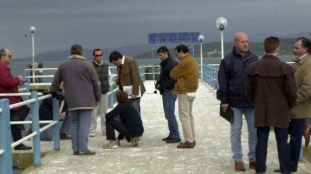 Gli investigatori del giallo-Narducci all'epoca delle indagini sul pontile di Sant'Arcangelo