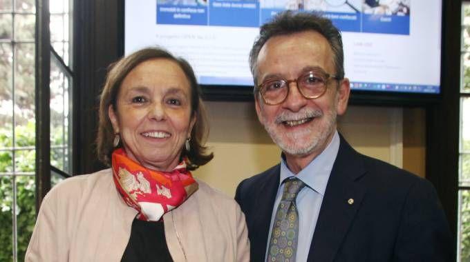 Luciana Lamorgese e Ennio Sodano (LaPresse)