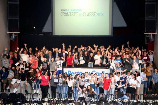 Cronisti in classe 2018 a Cesena, ecco le foto delle premiazioni ...