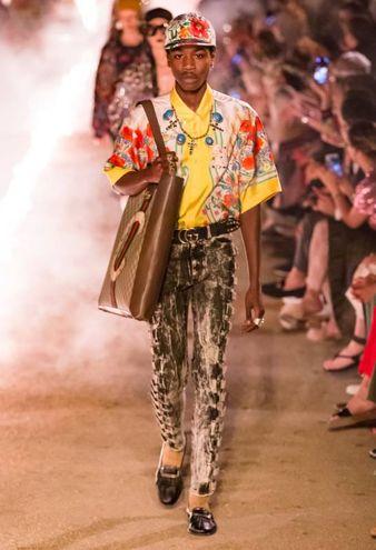 La sfilata Gucci Cruise 2019  (Foto Dan Lecca)