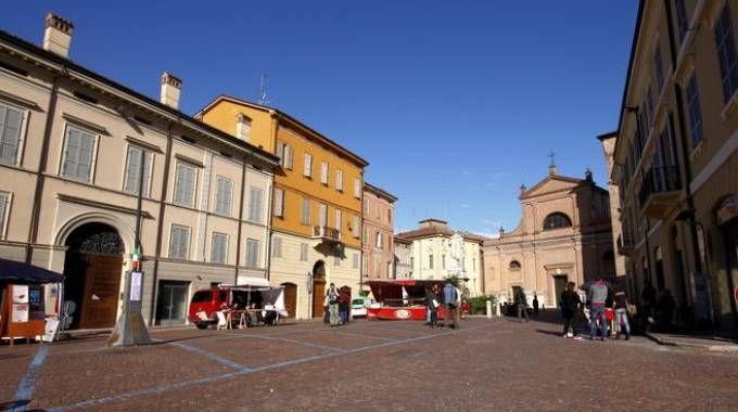 Piazza San Quirino a Correggio