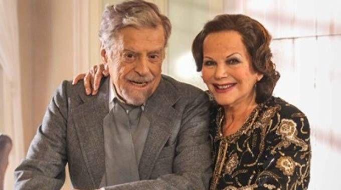 SUL SET Raffaele Pisu e Claudia Cardinale