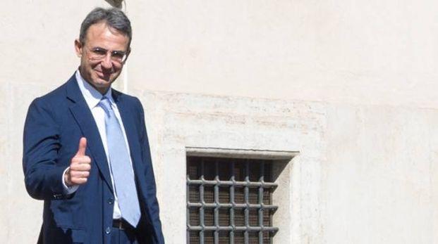 Il ministro Sergio Costa al Quirinale (ImagoE)