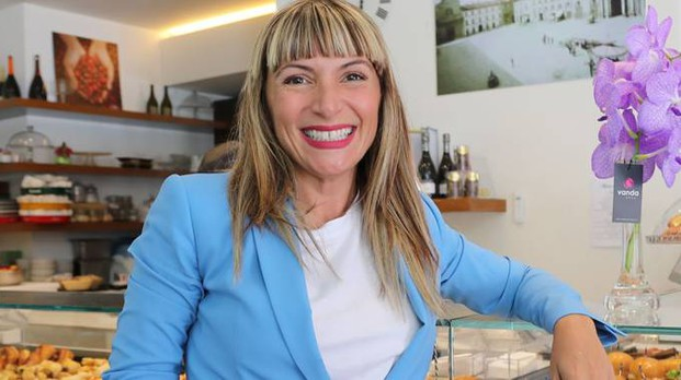 Stefania Atzori, ad di Sirio, che ha rilevato la gestione dello storico Bar Bacchilega